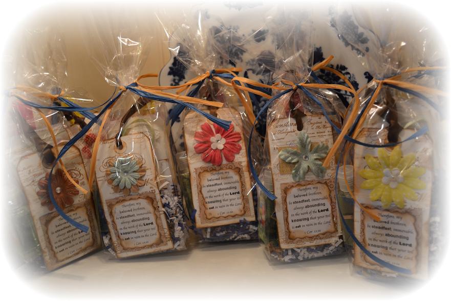 Pretty Gift Bags A Daisy Garden