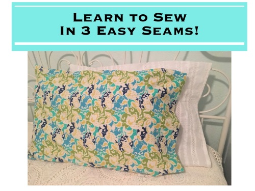 Learn to Sew In 3 Easy Seams!